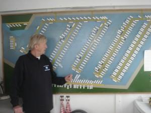 Coördinator havenmeester F.de Hollander